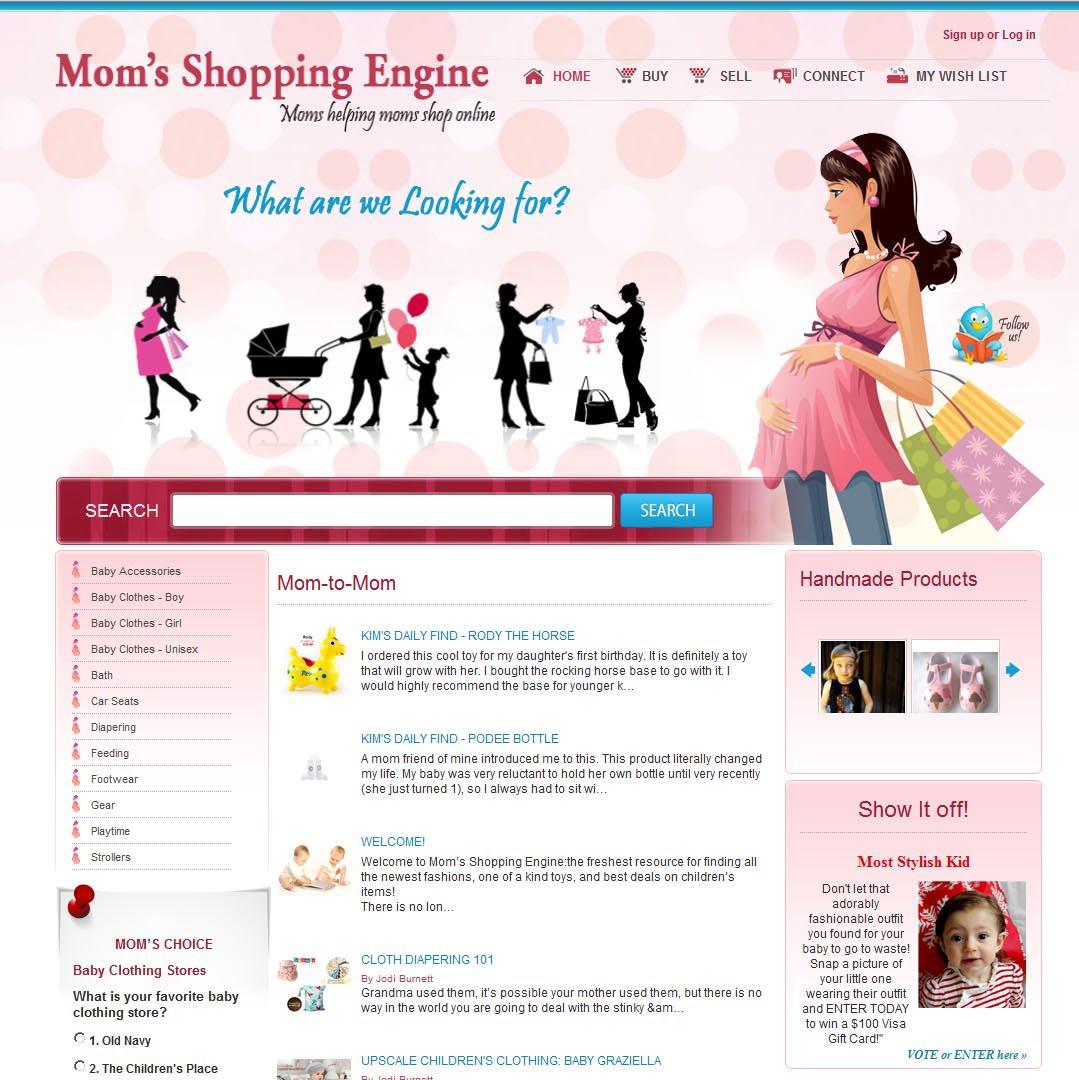 Mom's Shopping Engine